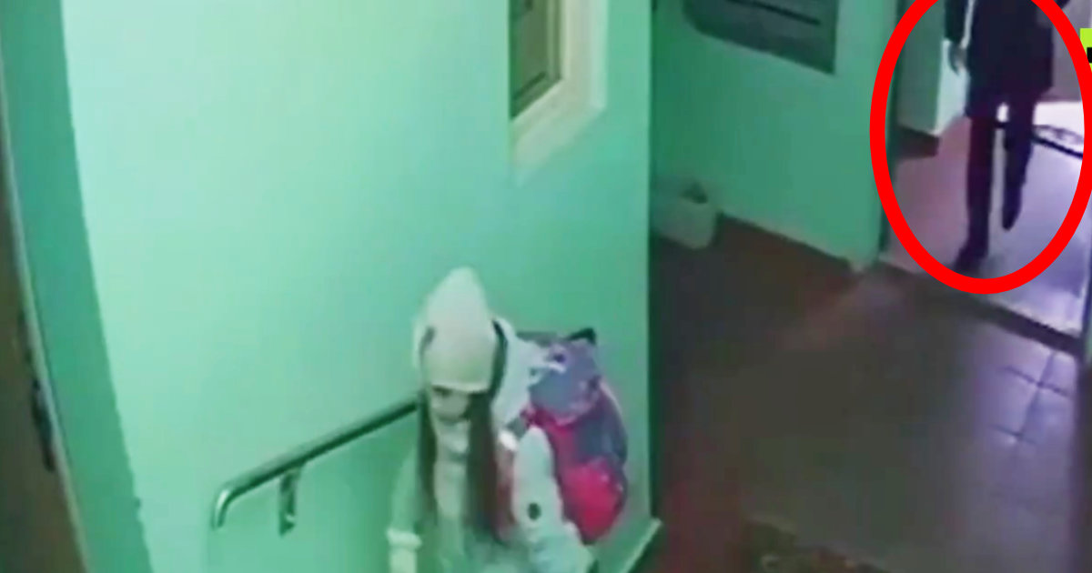 【鳥肌】9歳の女の子の後をつけマンションまで入ってきた不審なストーカー。女の子が「素晴らしい機転」で退散させ話題に!