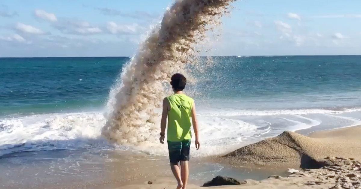 「どこへ消えた?」「彼は生きているのか?」水流の中に入っていった男性が消えて出てこなくなってしまう動画が物議!