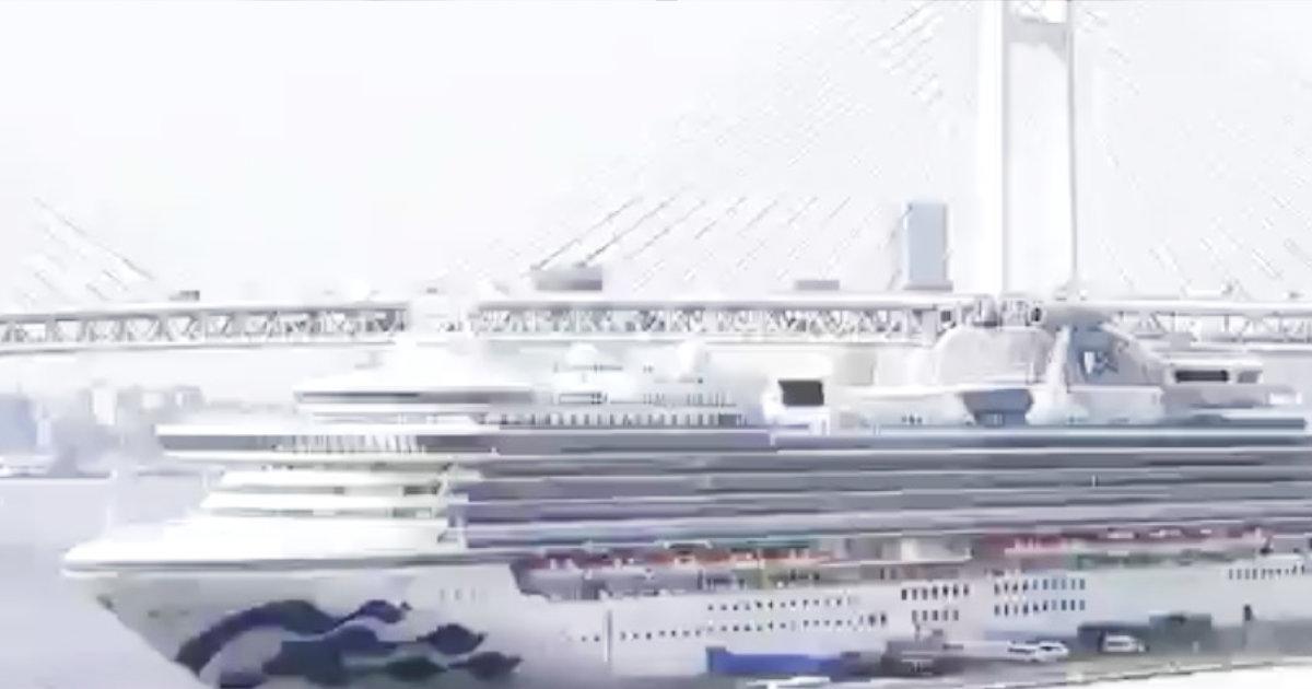 【速報】クルーズ船の日本人乗客2人が亡くなる。クルーズ船の乗客では初めて。