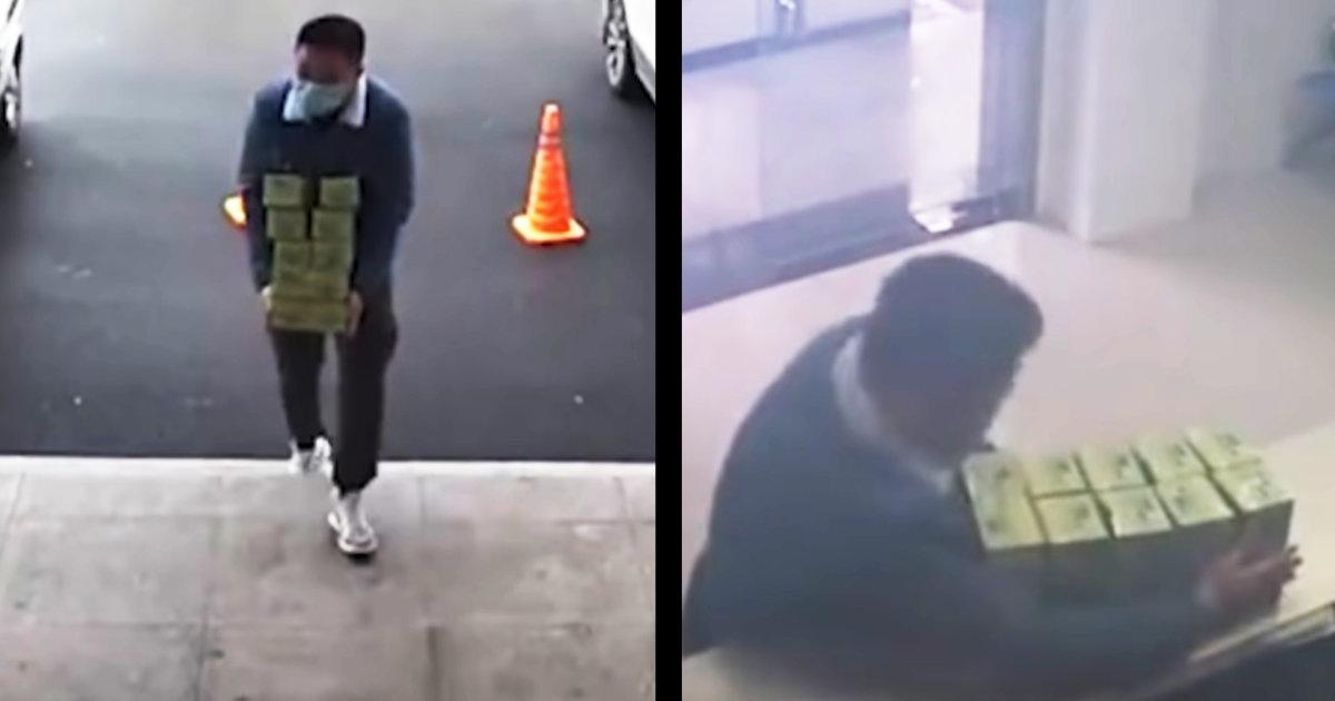 【神対応】新型肺炎が拡大する中国で、警察署に突然「謎の箱」を置いて行った男性に賞賛の嵐!警官の行動にも鳥肌!