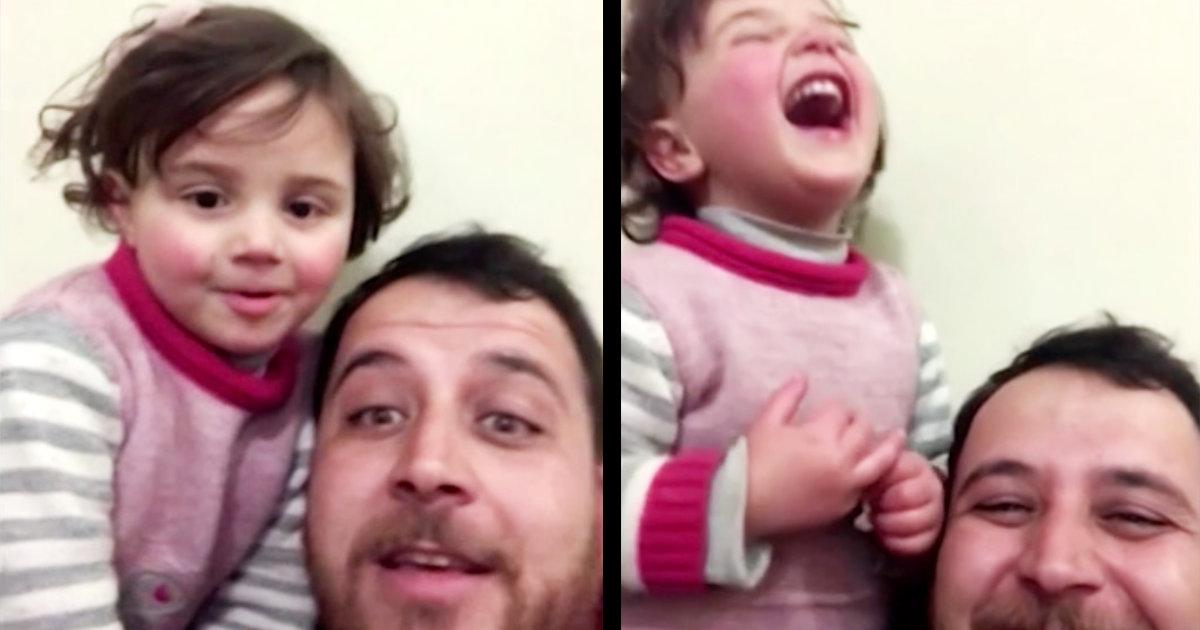 内戦が続くシリア、娘と父親が考えた「遊び」に胸が張り裂けそうだと世界中で話題に。こんな辛い遊びは消え去って欲しい。。