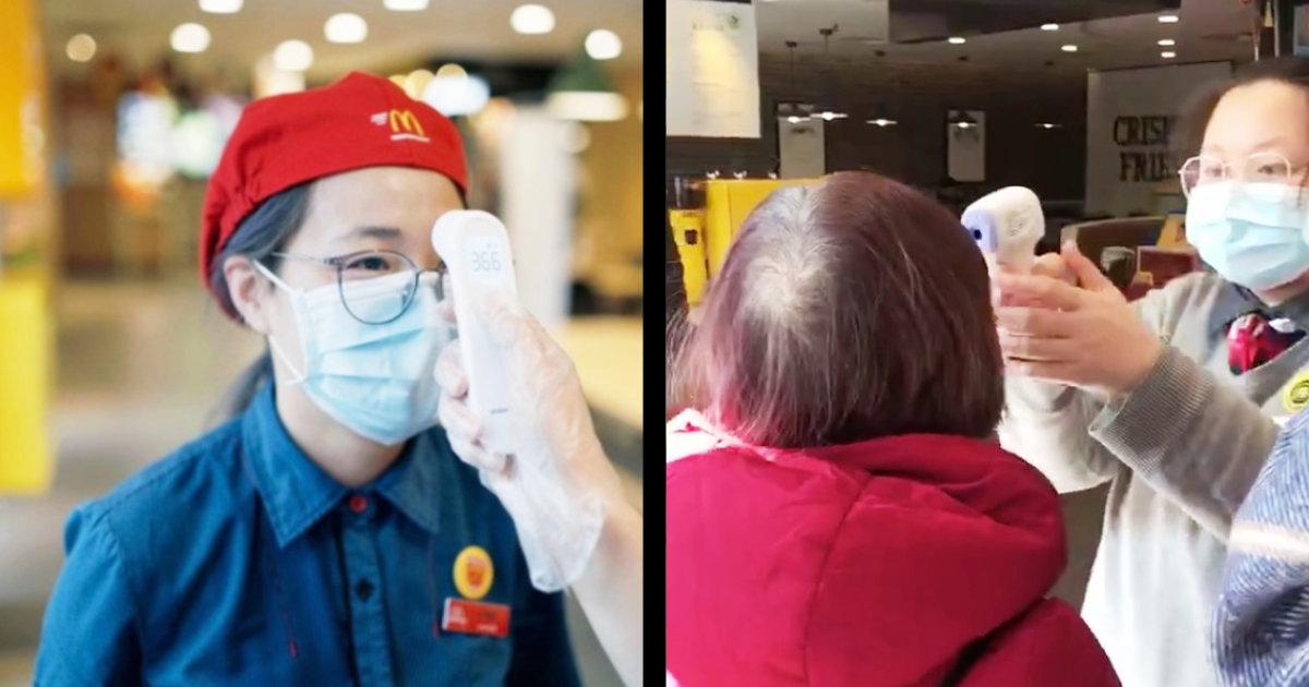【新型コロナ】日本のマクドナルドが驚きの理由でマスク禁止で物議!中国のマックの徹底した対応と比べると悲しくなる