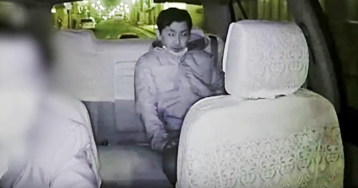 【神奈川】タクシーの乗客が突然ブチギレて牙を向く瞬間の動画を神奈川県警が公開、男の行方を追う!「猿がタクシーに乗ってはダメだろ」などの声