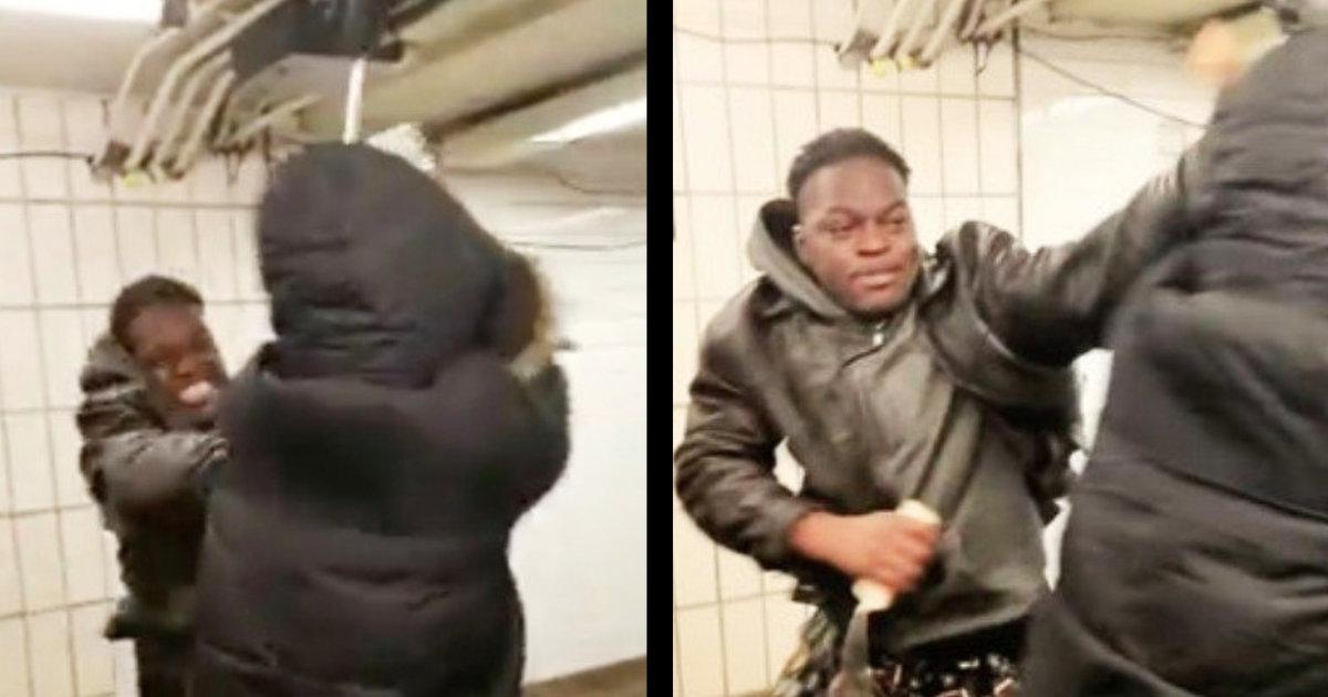 【新型肺炎】ニューヨークの地下鉄で、マスクのアジア系女性が「病気のビッチ」と攻撃される動画が物議!「多くの人はマスクは病気の兆候と考えるので、しない方がいい」