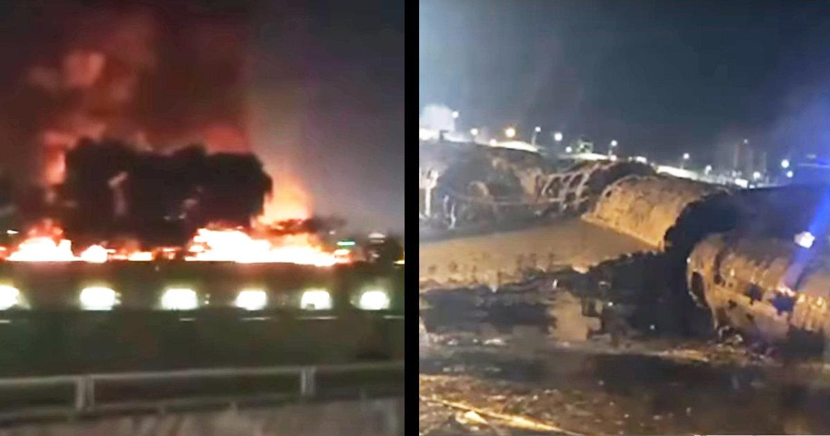 【速報】フィリピン発東京・羽田行きの飛行機が墜落と現地メディアが報道!