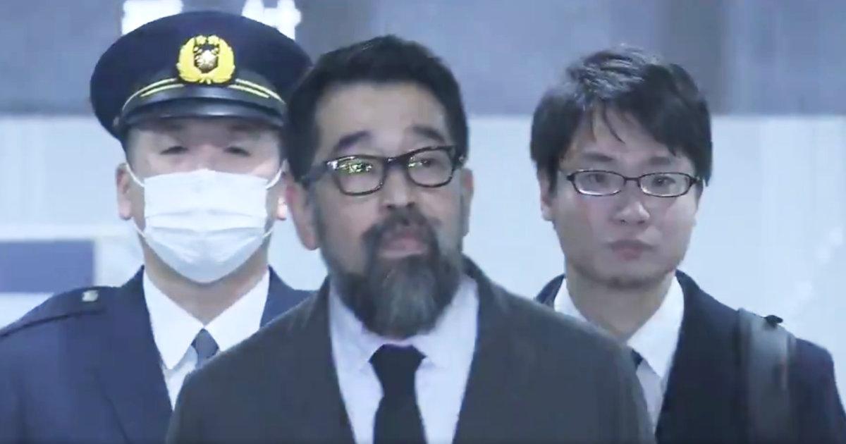 【速報】槇原敬之被告が保釈!動画には現場に響き渡る応援の声!