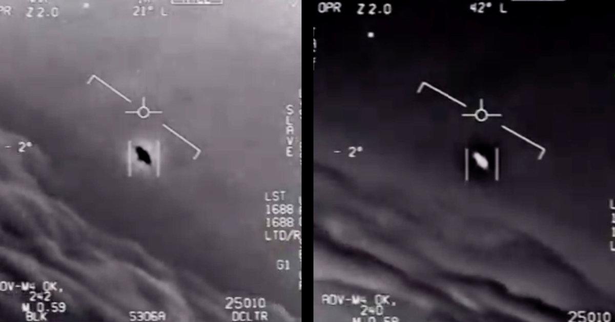 アメリカ国防省がUFOだとする映像を公式公開し話題に!高速で移動する様子が映る!