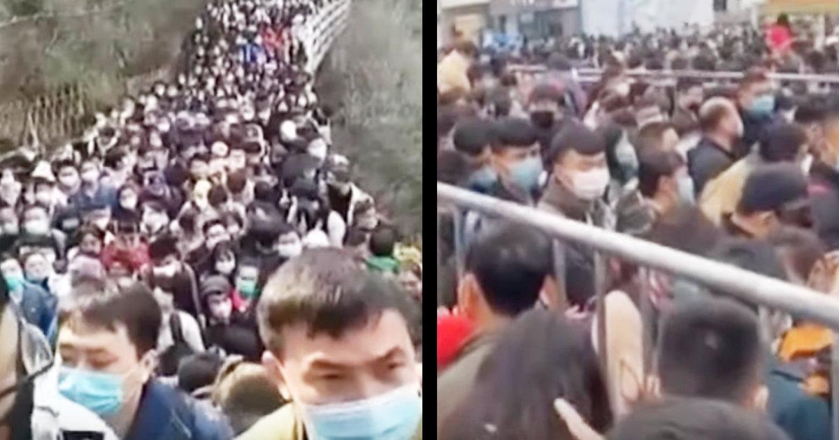 新型コロナ収束ムードの中国で、観光地に人が押し寄せてしまう!