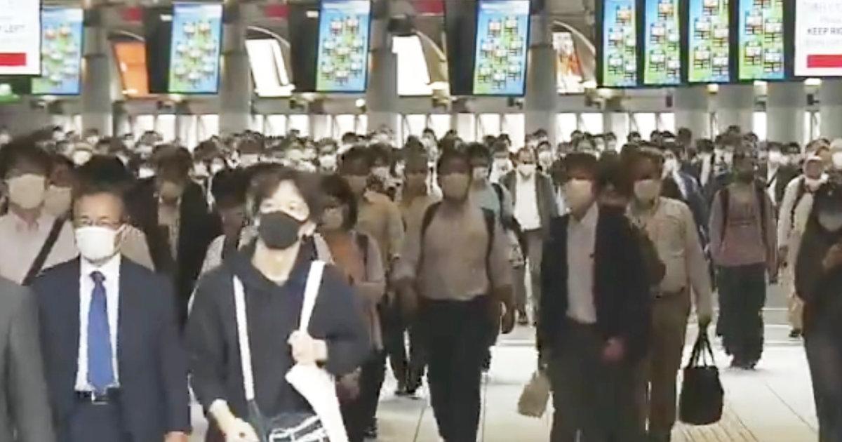 緊急事態宣言解除で多くの通勤客。しかし不安の声も多く寄せられる