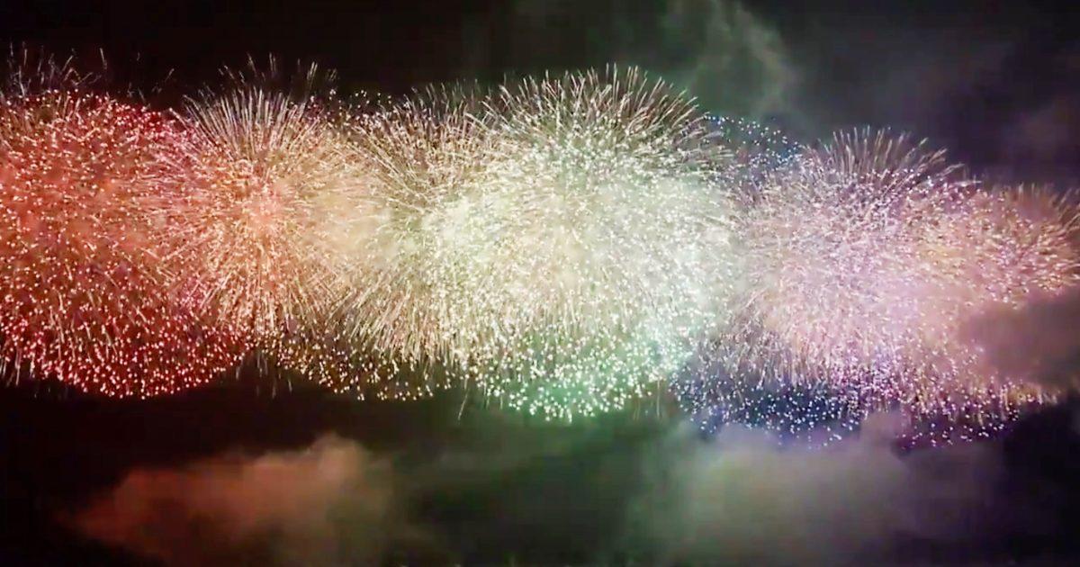 「粋だ!」コロナ収束を願い明日6月1日、全国200カ所で一斉に花火打ち上げ!大飢饉やコレラで8代将軍・徳川吉宗が行なった隅田川花火大会が起源
