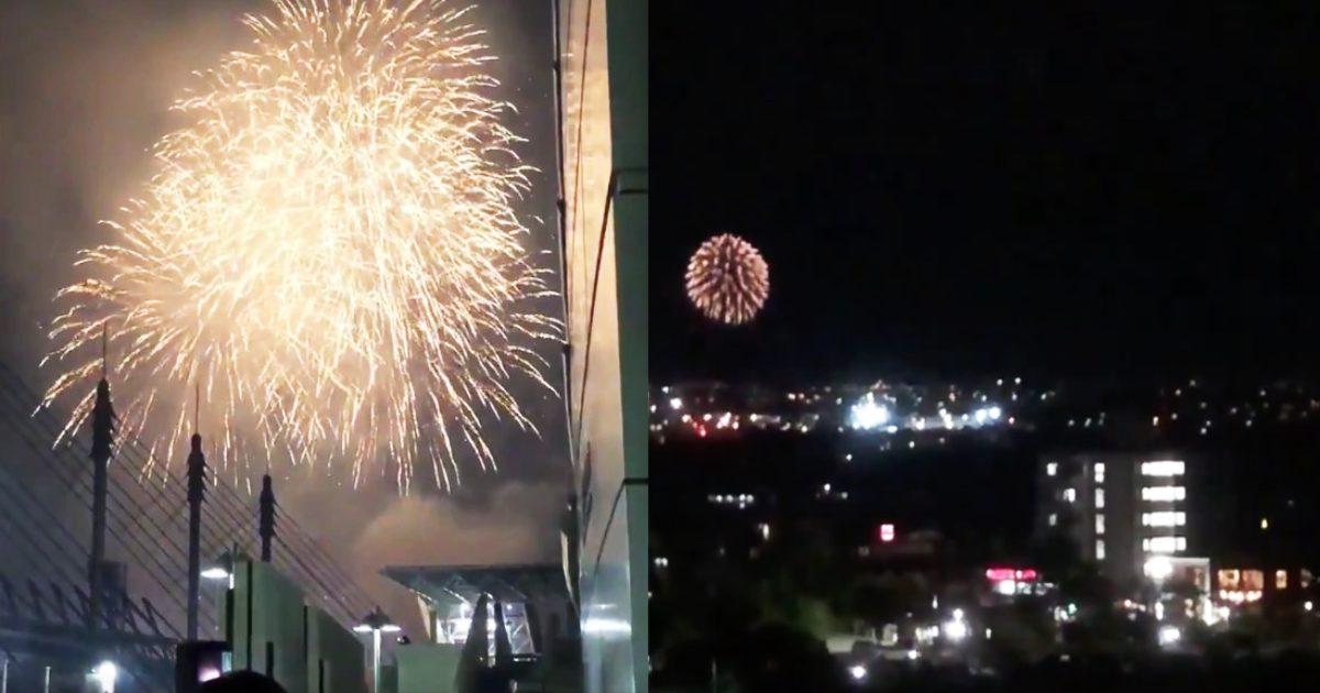 「花火職人さんありがとう!」悪疫退散の全国一斉花火プロジェクト、全国の花火動画が続々投稿される!