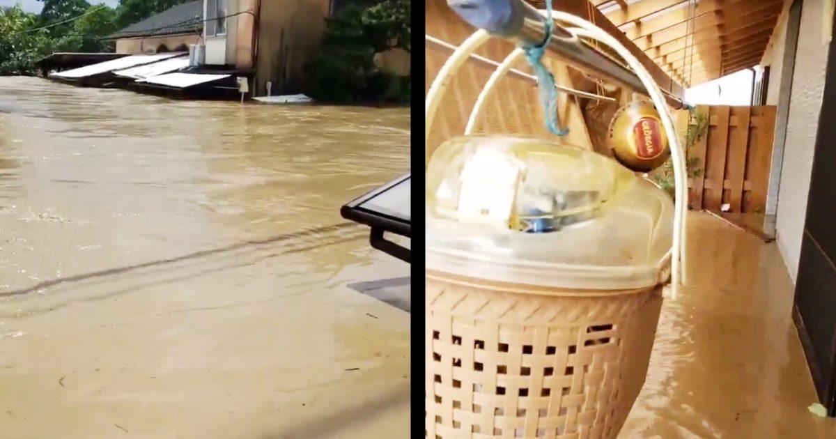 【熊本・鹿児島】川の氾濫でSNSに続々と助けを求める声!Twitterで救助要請をする方法と、救助後は投稿の削除を!