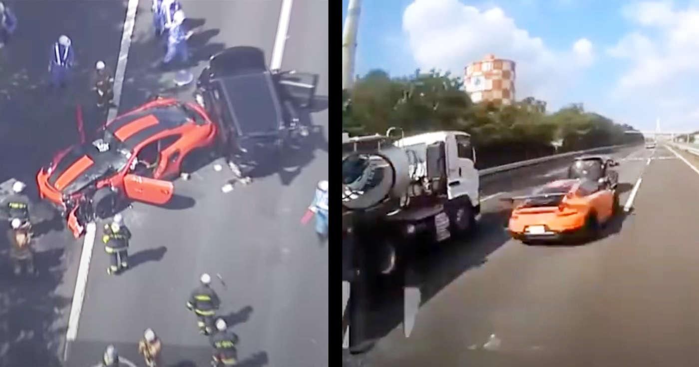 【川崎】「スピード出しすぎちゃった」暴走ポルシェが追突し夫婦2人が亡くなった事故のドラレコ動画が見つかり200km/hは出ていると話題に!