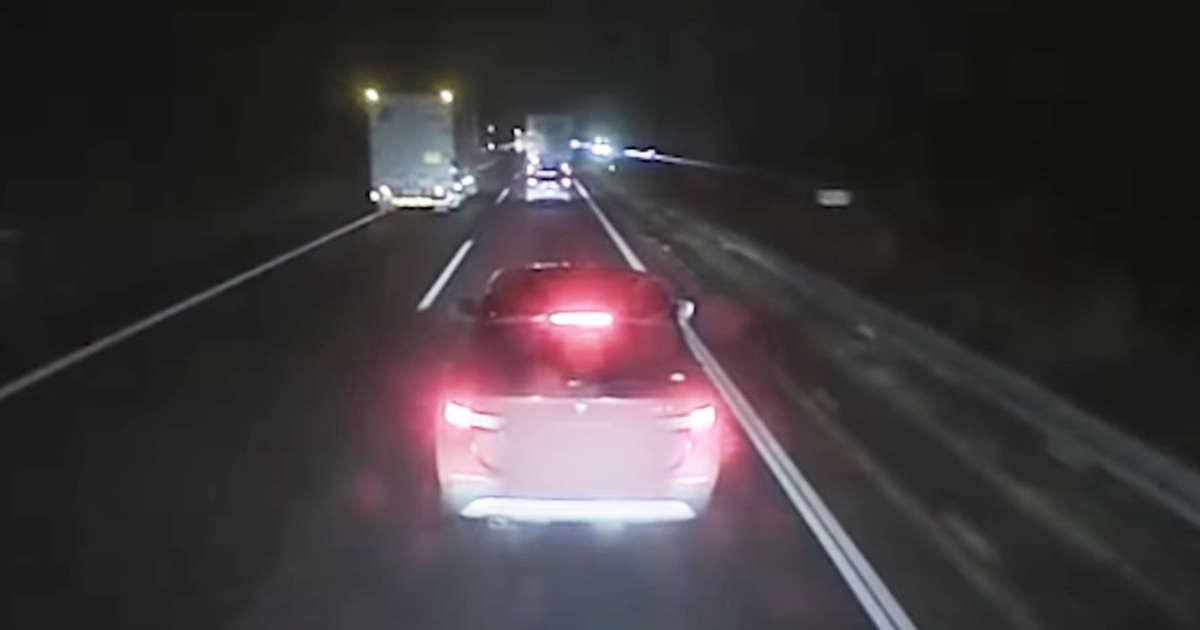 【滋賀】「医師免許も剥奪して欲しい」高速道路で大型トラックの前でひどい煽り運転をした医師が書類送検!