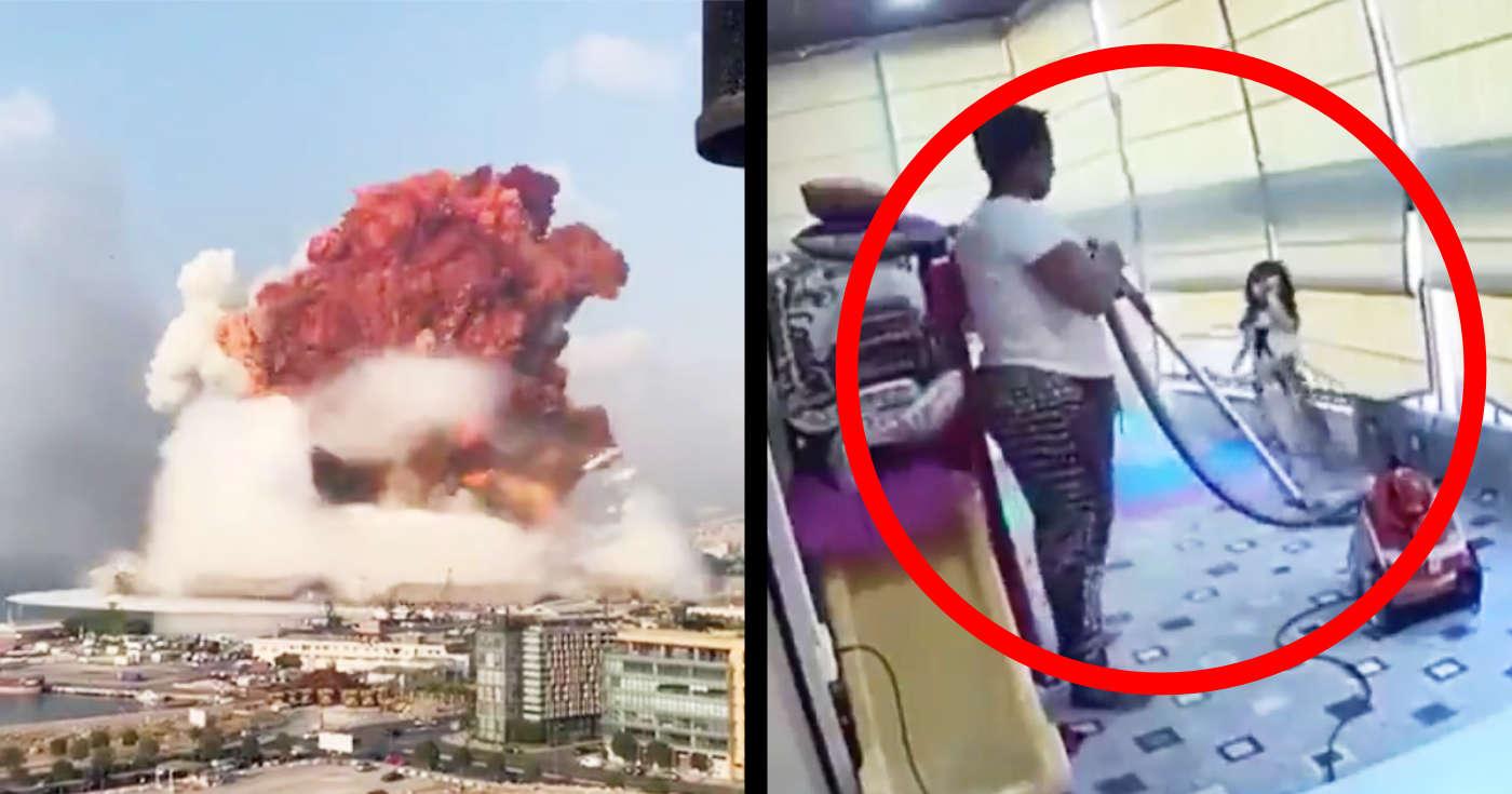 「本物のヒロインだ」レバノンの大爆発で少女を守った家政婦さんの行動が話題に!
