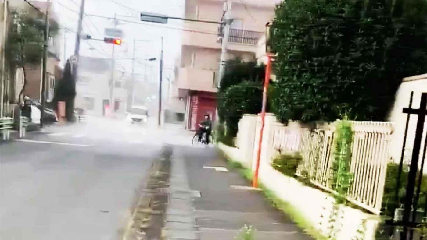【東京】たった10メートル先は豪雨!豪雨との境目を撮影した動画が話題に!