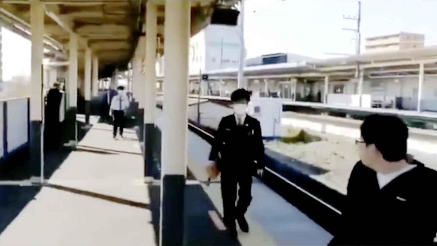 鉄道マニアの行動に駅員さんがブチギレる動画が物議!「客と安全を守る上で当然」「言い過ぎ」などの声!