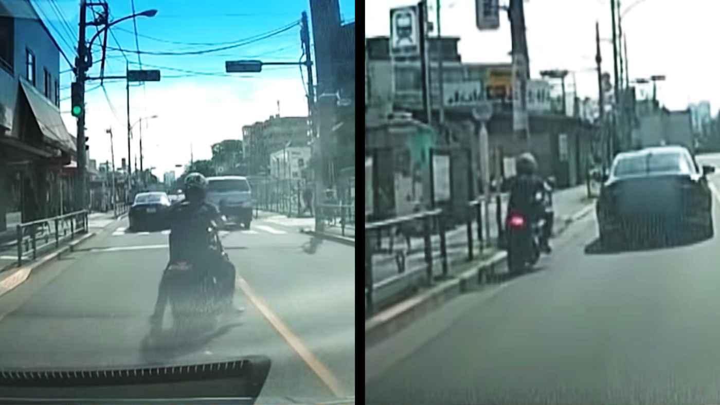 「これは記憶無さそう」山口達也容疑者がフラフラ蛇行運転する後続車が撮影した動画が公開!