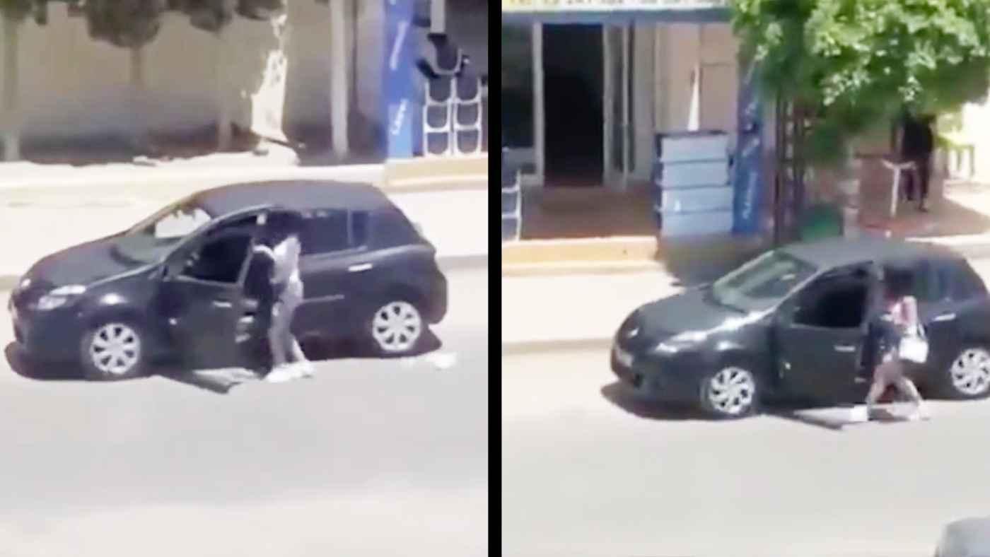 走る車の運転席から離れ、インスタ映え動画を撮っていた女性が自業自得すぎることになってしまう!