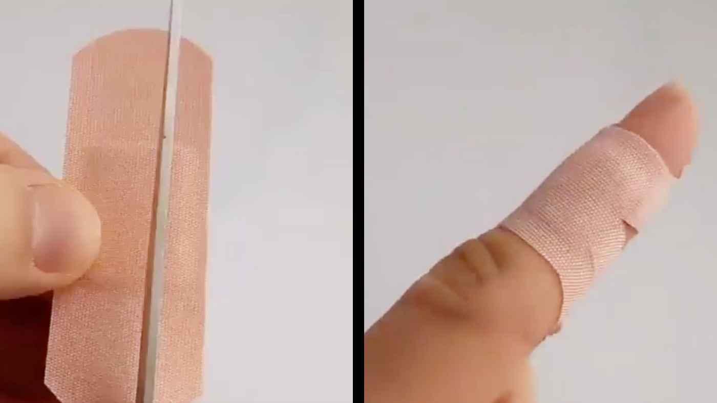 【ライフハック】関節が動かしやすくなり、しかも外れにくくなる絆創膏の貼り方が話題に!