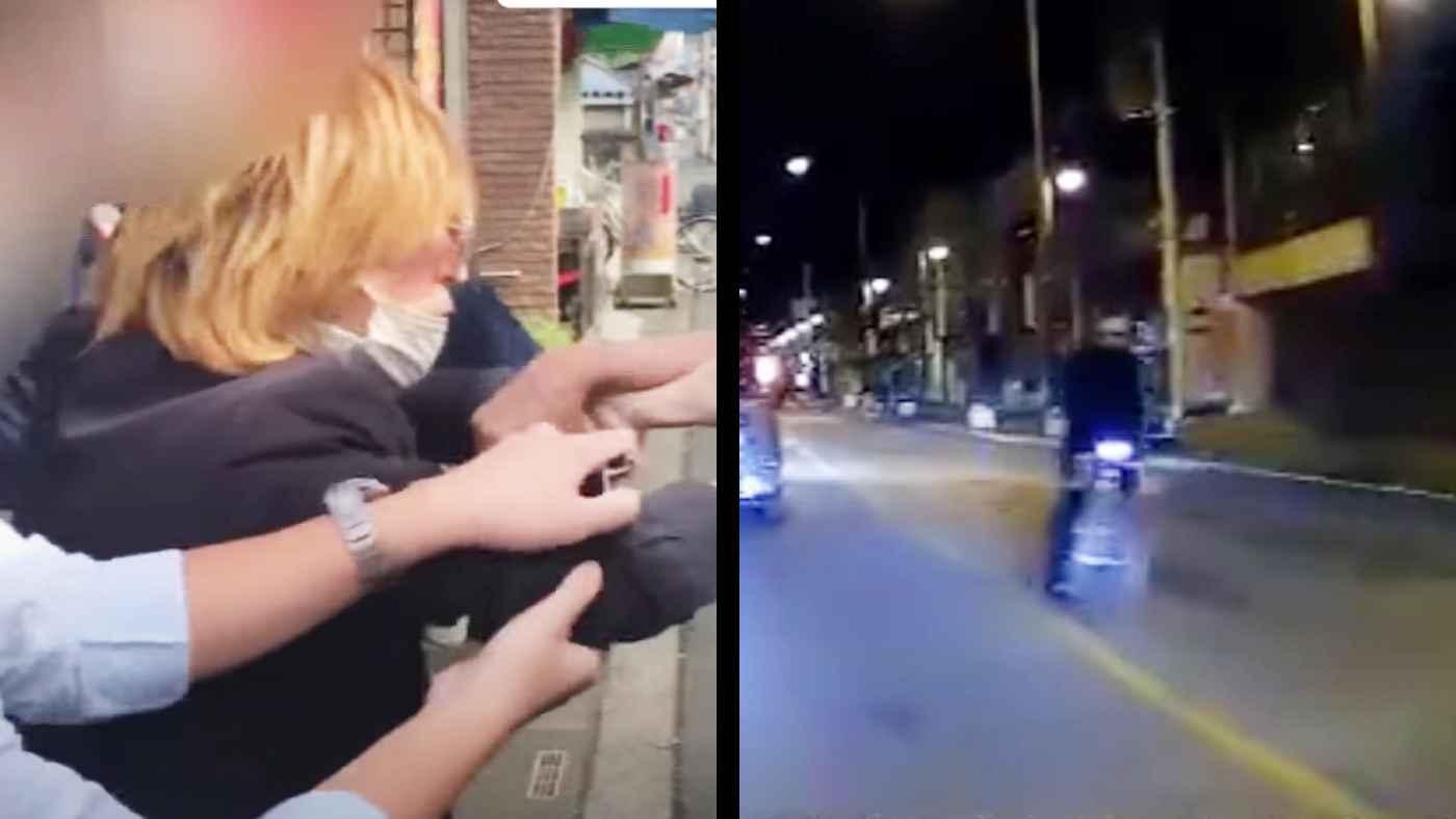 自転車で車の前に飛び出す「桶川のひょっこり男」、逮捕後も続け、注意した男性とトラブルになりまた逮捕される!