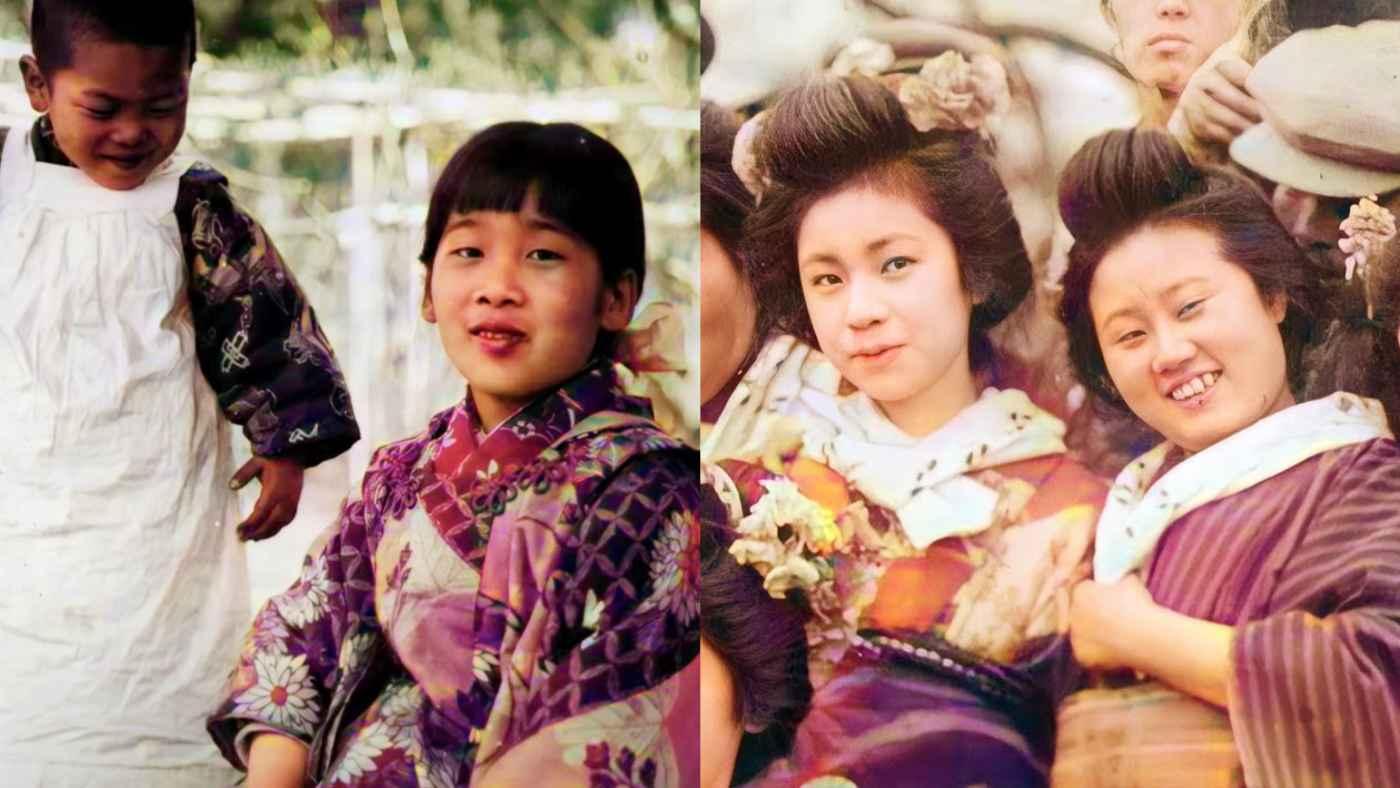 カラー高画質化した100年前の日本人の笑顔。時代が変わっても変わらない大切なものを感じる!