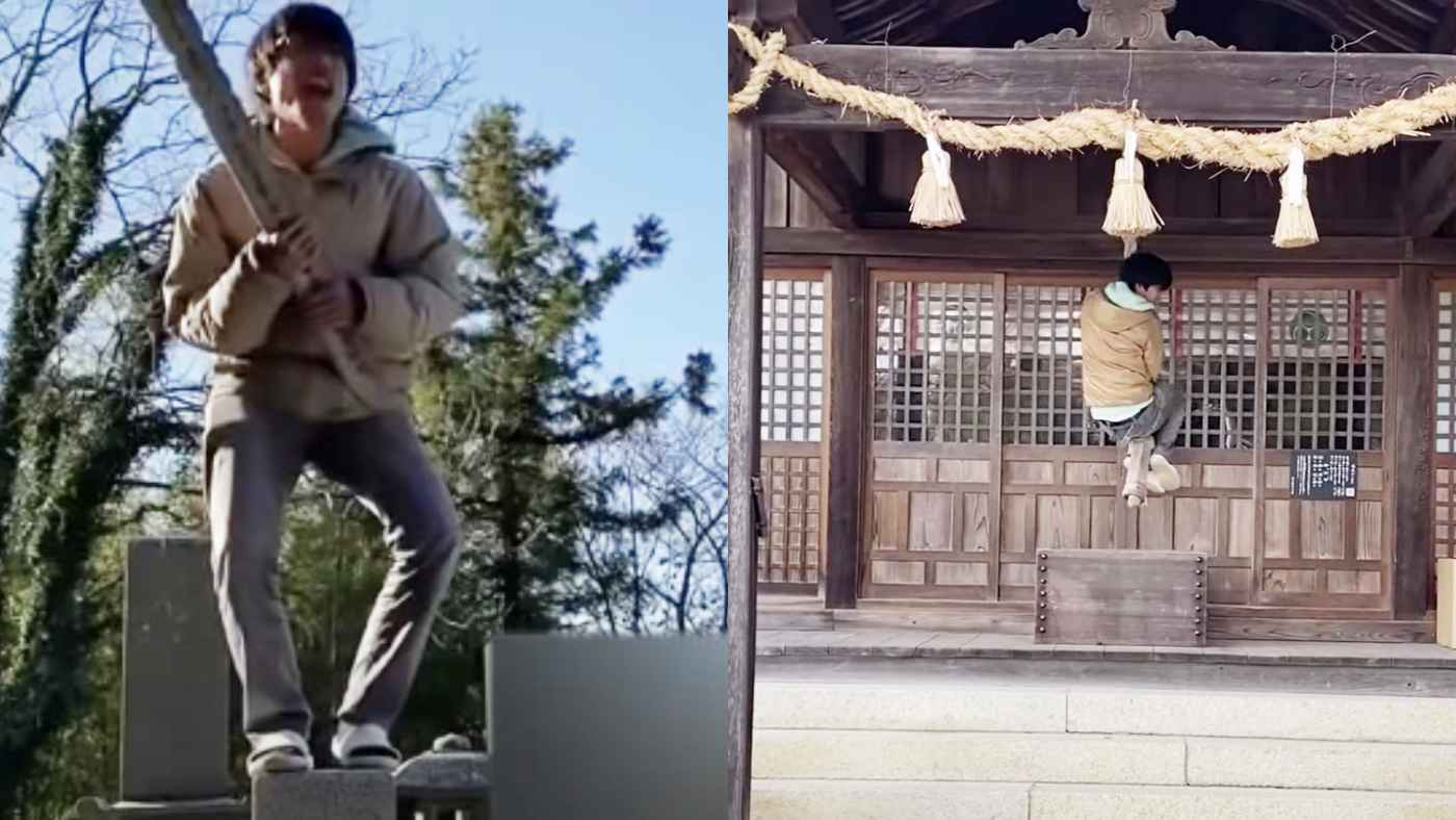 神社やお墓で暴れた迷惑系ユーチューバーが逮捕!長州力さんが「俺の故郷だぞ」と怒りの動画投稿!