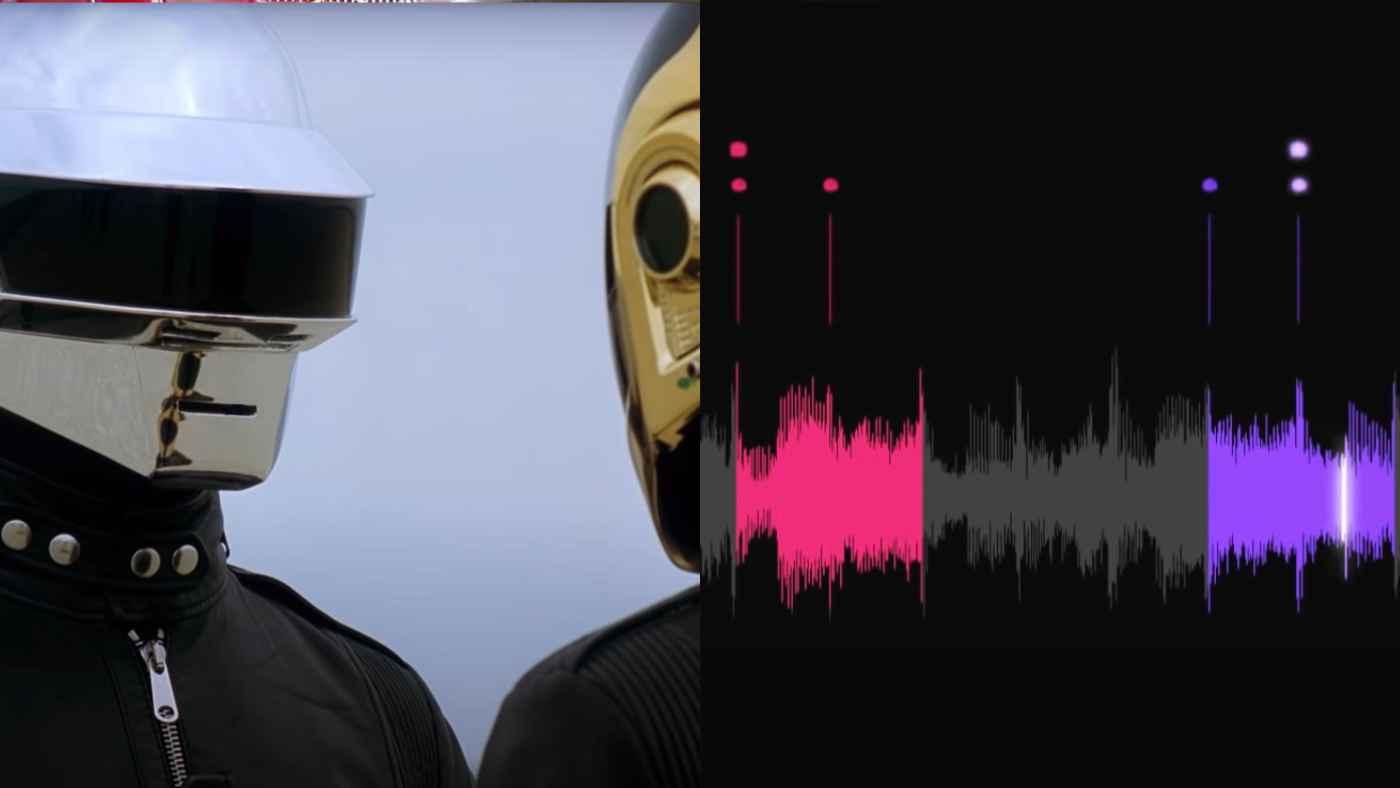 ダフト・パンクが原曲を「One More Time」にしたサンプリングが天才すぎると話題に!超分かりやすい説明動画!