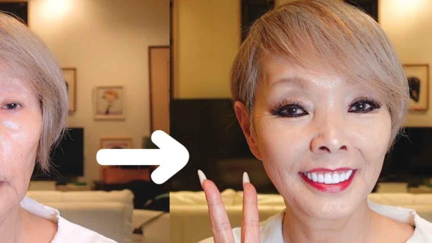 研ナオコさんがメイクのビフォーアフター動画を公開!メイク前の顔が見せちゃいけないやつだと話題に!