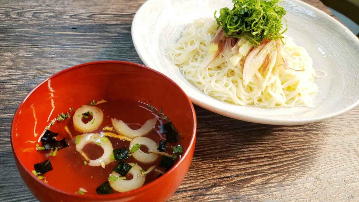 めんつゆに戻れなくなる旨さ!永谷園の松茸のお吸い物でソーメン食べたら激うまだった!
