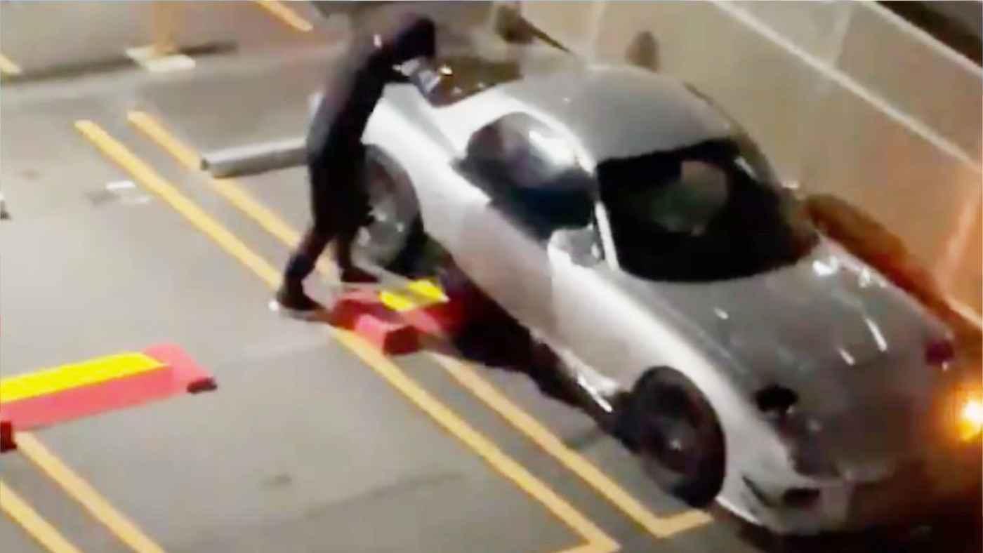 「何も出来なかった。誰か助けて」目の前で愛車が盗まれてしまう動画が拡散され物議!