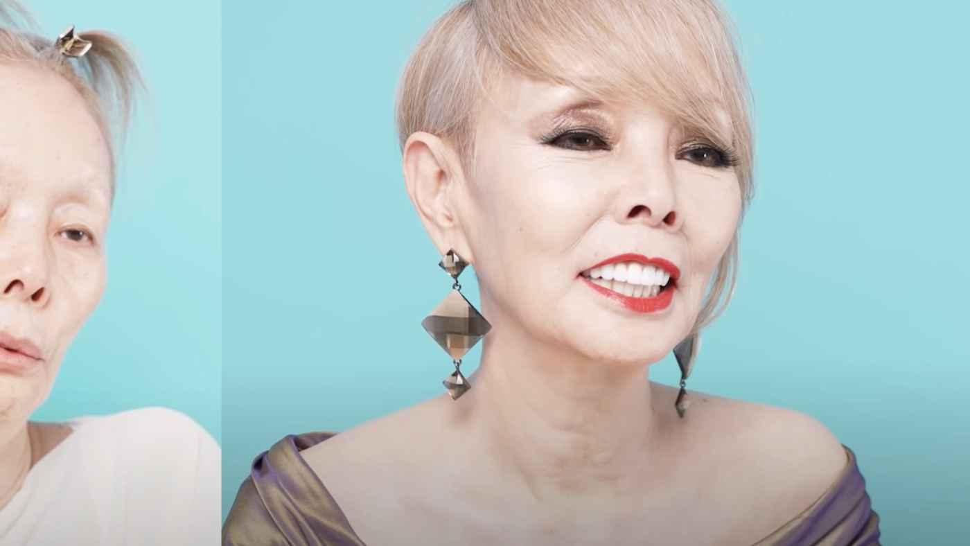 研ナオコさん(68)がメイクのビフォーアフターを公開!スッピンでも綺麗と話題に!