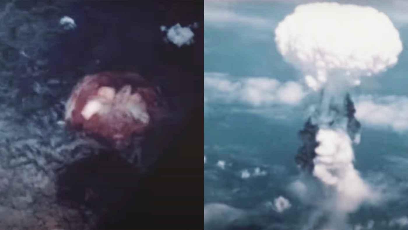 広島・長崎への原爆投下の瞬間を収めたカラー動画のリアリティに言葉を失う