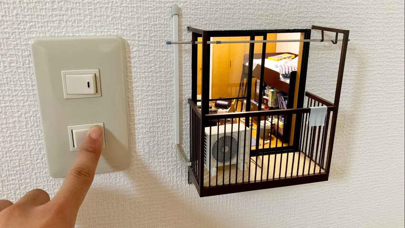22歳の日本人アーティストが作った「壁の中の小さな部屋」がすごいと海外でも話題に!