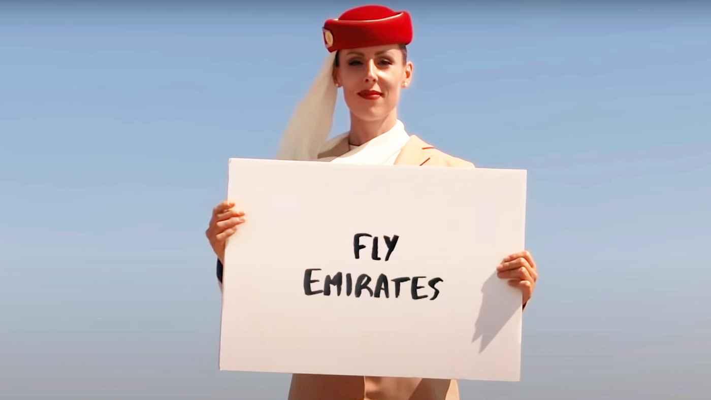 【高所注意】「CGじゃなかった!」ヤバすぎる場所で撮ったエミレーツ航空のCMが話題に!