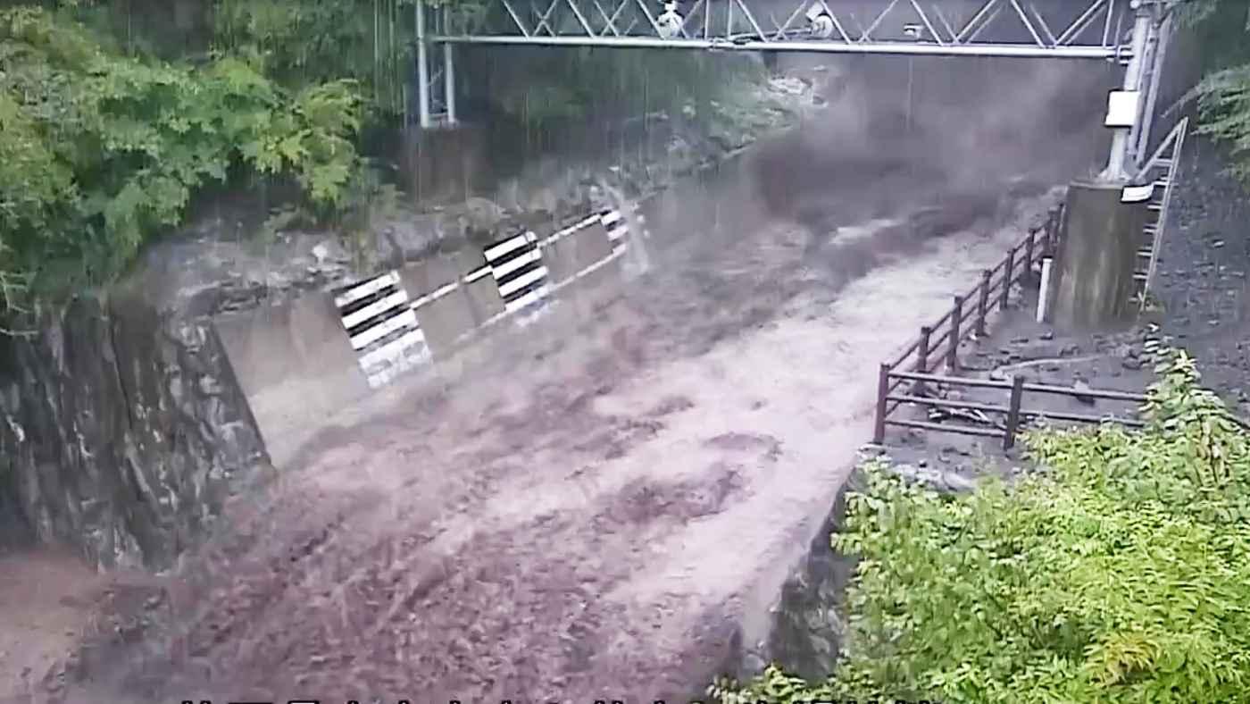 「突如としてこんな変貌するとは」富士山 ・大沢川で土石流が発生!国土交通省が公開した動画がヤバすぎると話題に!