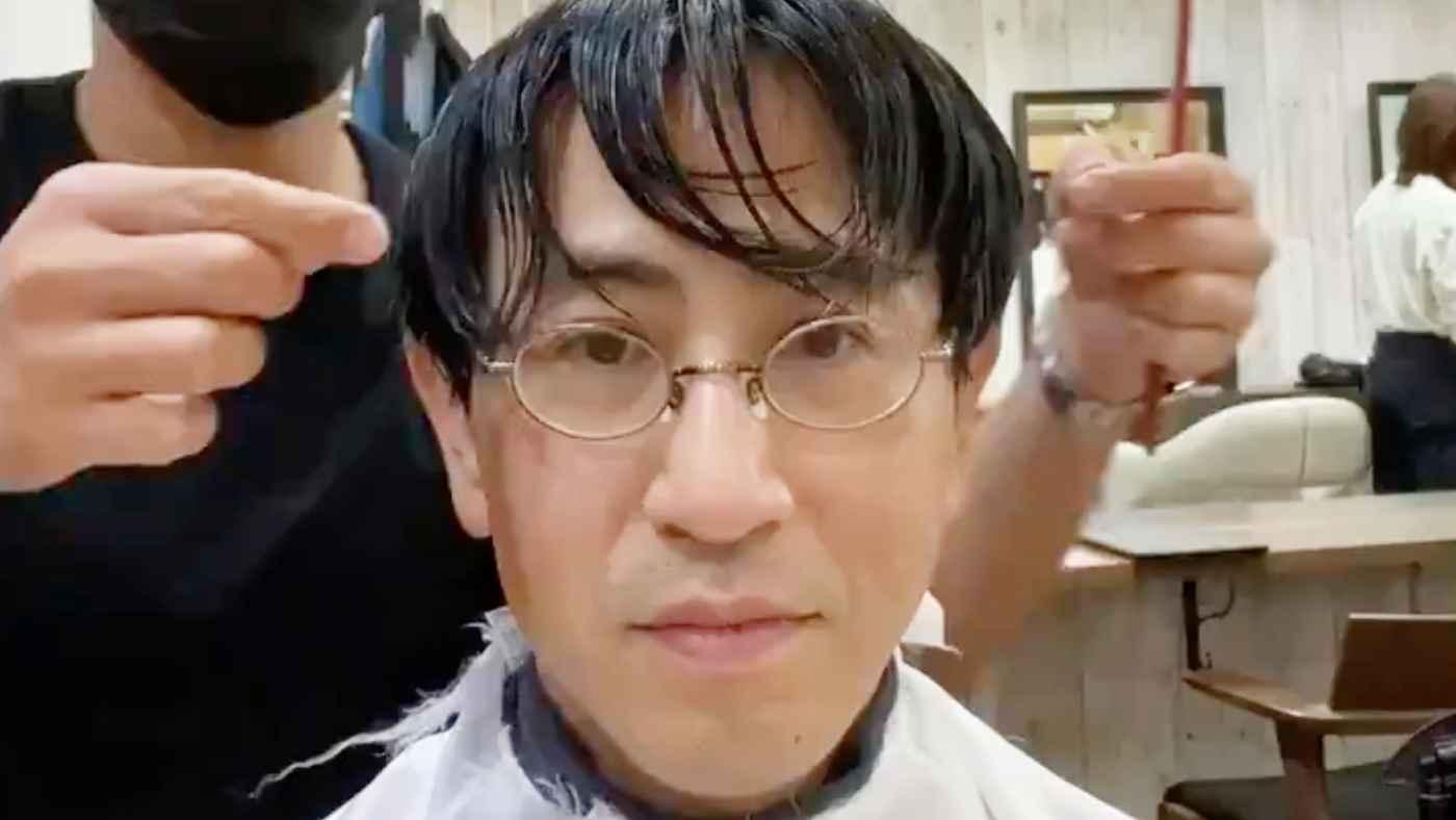「別人だと思った!」美容師のプロ技で、普通のお父さんがカッコいいイケオジに大変身してしまう動画が話題に!